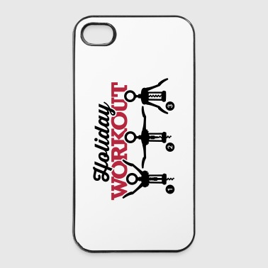 Holiday workout corkscrew - Coque rigide iPhone 4/4s