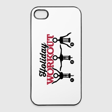 Holiday workout corkscrew - iPhone 4/4s hard case