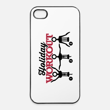 Fitness Holiday workout corkscrew - iPhone 4 & 4s Case