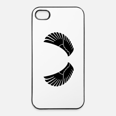 Tribal ali - Custodia rigida per iPhone 4/4s
