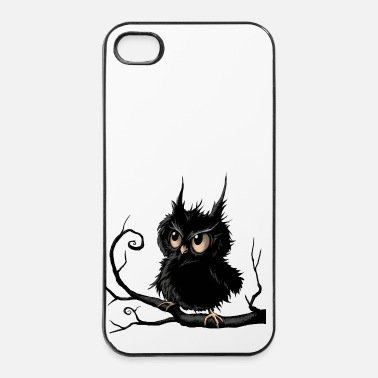 Kleine  kleine, knorrige uil - iPhone 4/4s hard case