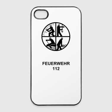 Feuerwehr-Signet EPS - iPhone 4/4s Hard Case