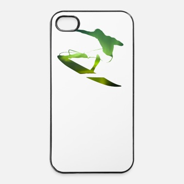 Hawaii Northern Lights surfer - onda surfistas Deportes - Carcasa iPhone 4/4s