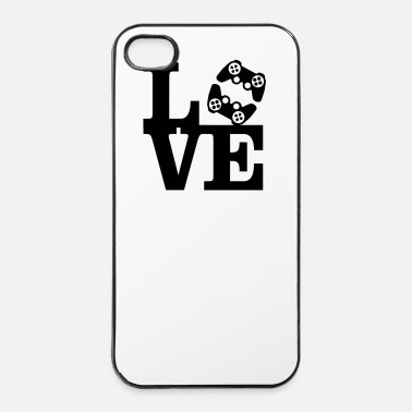 Lovely Love Gaming (Controller) - iPhone 4 & 4s Case