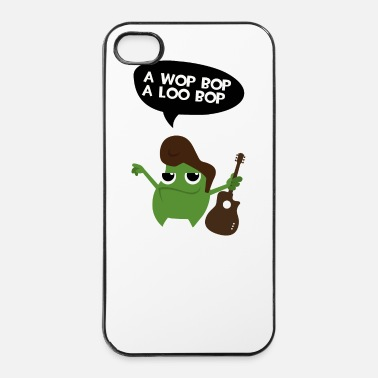 Chant Elvis Rock Monster - Coque rigide iPhone 4/4s