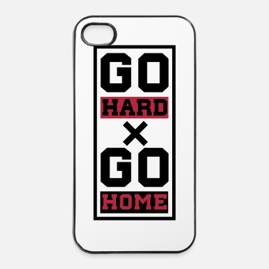 Übung go hard x go home - iPhone 4 & 4s Hülle