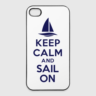 Keep calm and sail on - Coque rigide iPhone 4/4s