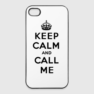 Keep calm and call me - Coque rigide iPhone 4/4s