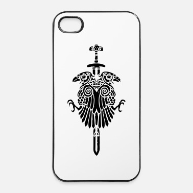 Épée corbeauviking2 - Coque rigide iPhone 4/4s