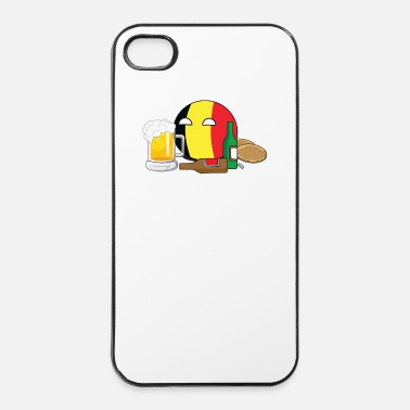 Country BelgiumBall - iPhone 4/4s hard case