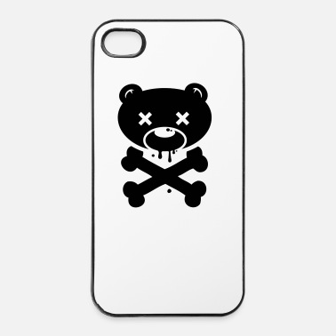 Apocalypse Scary Bear monster ghost Halloween skull zombie - Coque rigide iPhone 4/4s