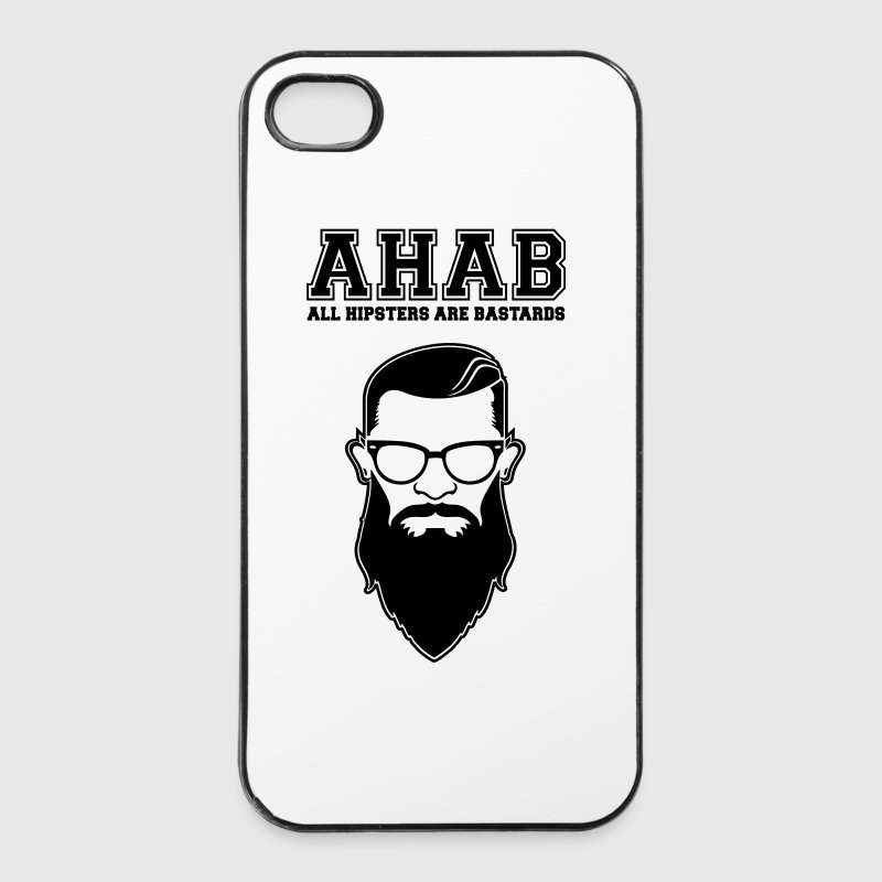 ALL HIPSTERS ARE BASTARDS - Funny Parody  - iPhone 4/4s Hard Case