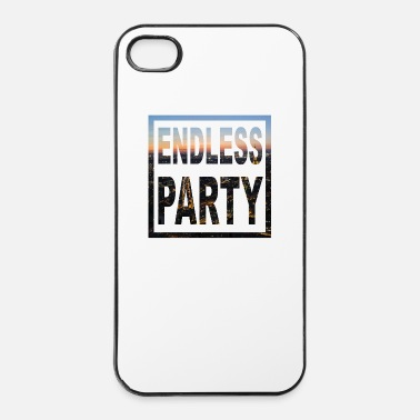Fin Endless Party Taschen & Rucksäcke - Coque rigide iPhone 4/4s