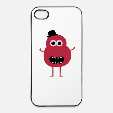 Chic Funny Vintage Monster - Custodia rigida per iPhone 4/4s