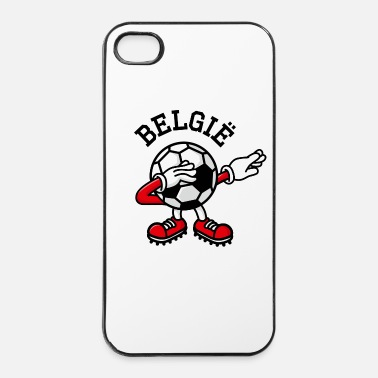Champion Du Monde België Belgium dab dabbing soccer football - Coque rigide iPhone 4/4s