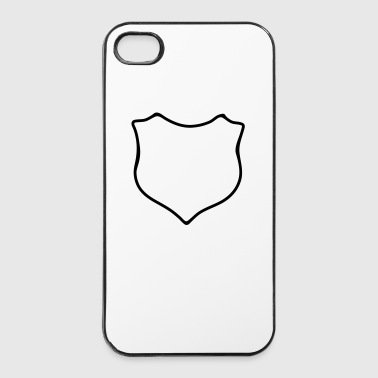 Wapenschild - iPhone 4/4s hard case