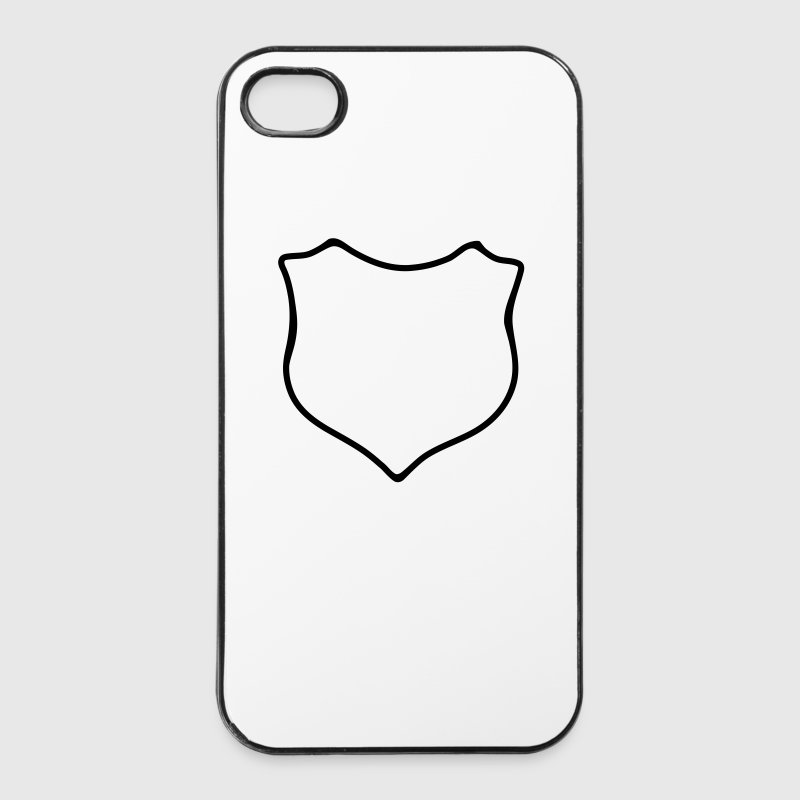 Wappen - Blanko - iPhone 4/4s Hard Case