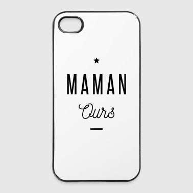 MAMAN OURS - Coque rigide iPhone 4/4s