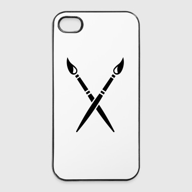 Pinceau - Coque rigide iPhone 4/4s