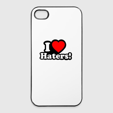I LOVE HATERS - I LOVE ENVY - iPhone 4/4s hard case