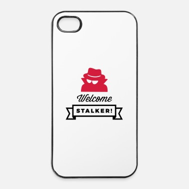 Macho Welkom, u stalker! - iPhone 4/4s hard case