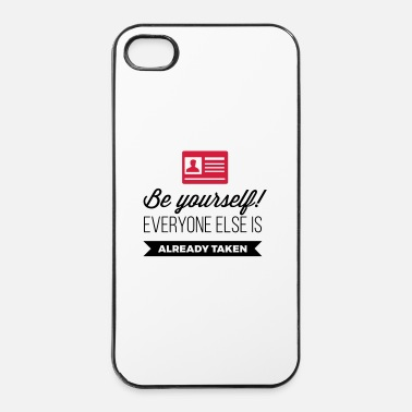 Masker Worden. Iedereen is al genomen! - iPhone 4/4s hard case
