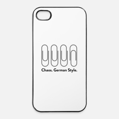 Germania Chaos: German Style (2015) - Custodia rigida per iPhone 4/4s