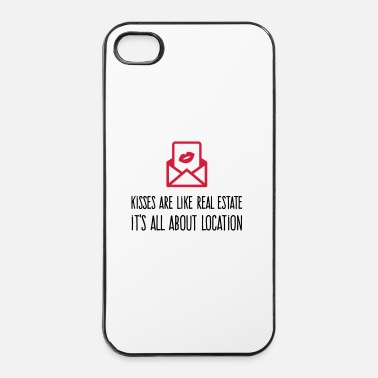 Culture Kisses are like real estate. Location, location, location! - iPhone 4 & 4s Case