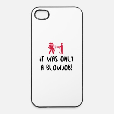 Persoon Het was gewoon een blowjob! - iPhone 4/4s hard case