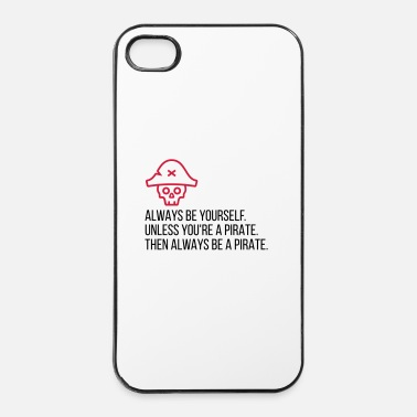 Regering Wees een piraat! - iPhone 4/4s hard case
