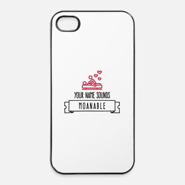 Name Your name sounds stöhnbar! - iPhone 4/4s hard case
