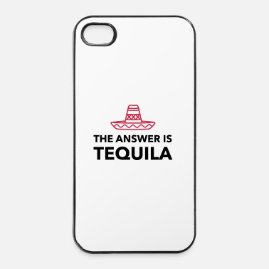 Tequila The answer is Tequila - iPhone 4/4s Hard Case