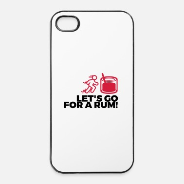 Sud Buvons un rhum! - Coque rigide iPhone 4/4s