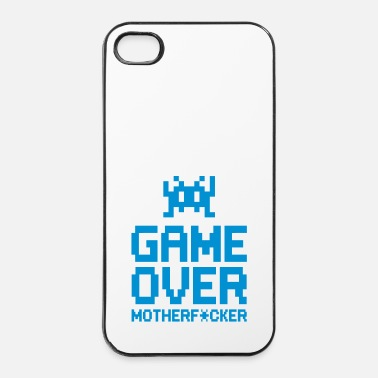 Console game over motherf*cker - Coque rigide iPhone 4/4s