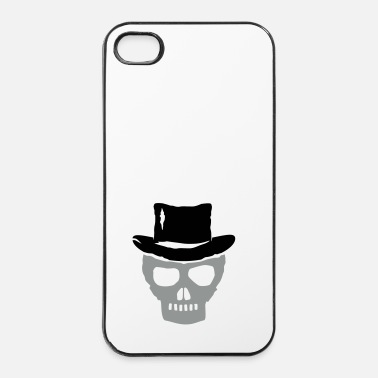 Skull skull pirate hat 2c - Carcasa iPhone 4/4s