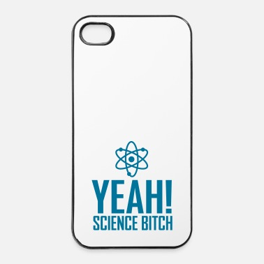 Radioactif yeah science b!tch atom ii - Coque rigide iPhone 4/4s