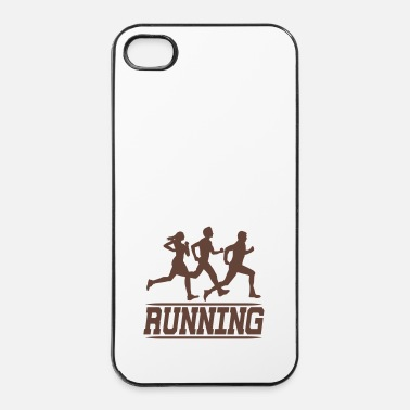 Joggen running joggers - iPhone 4/4s hard case