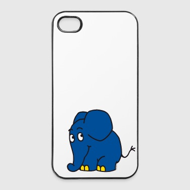 T-Shirt 'Kleiner Elefant' - iPhone 4/4s Hard Case