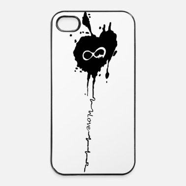 Tatoo Coeur Infinity - Coque rigide iPhone 4/4s