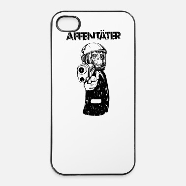 Chimpansee affentäter - iPhone 4/4s hard case