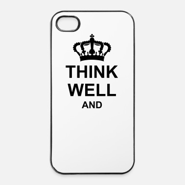Propre Think well and cw46 kg10 - Coque rigide iPhone 4/4s