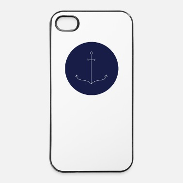 Ancre Ancre mince  - Coque rigide iPhone 4/4s