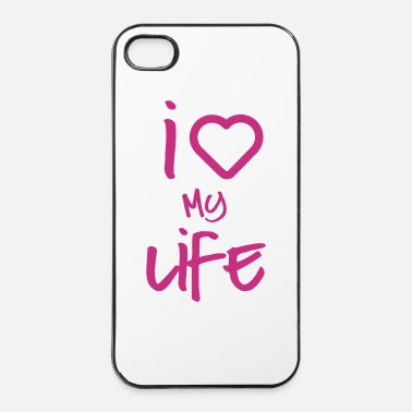 S'aimer i love my life 2 - Coque rigide iPhone 4/4s