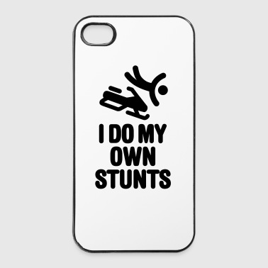 I do my own stunts - snowmobile - Custodia rigida per iPhone 4/4s