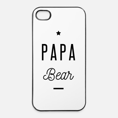 Originele PAPA BEAR - iPhone 4/4s hard case