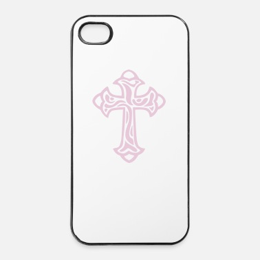 Kreuz Kreuz Ornament - iPhone 4/4s Hard Case