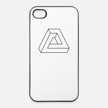 Triangle Optische Täuschung - Triangle  - Coque rigide iPhone 4/4s