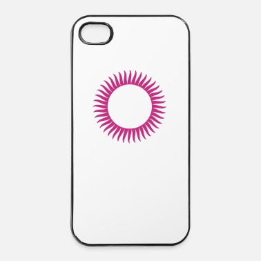 Zon zon - retro - iPhone 4/4s hard case
