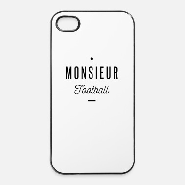 Football monsieur football - Coque rigide iPhone 4/4s