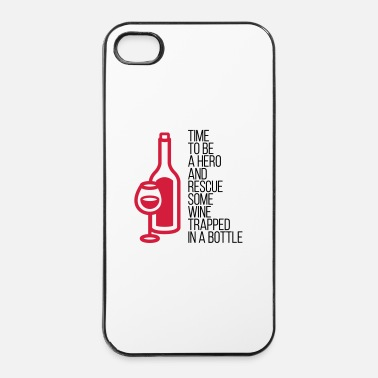 Culture We have to save the wine from his bottle! - iPhone 4 & 4s Case